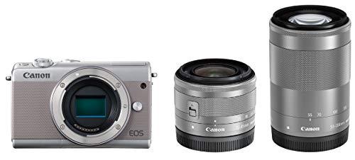 Canon ミラーレス一眼カメラ EOS M100 ダブルズ...