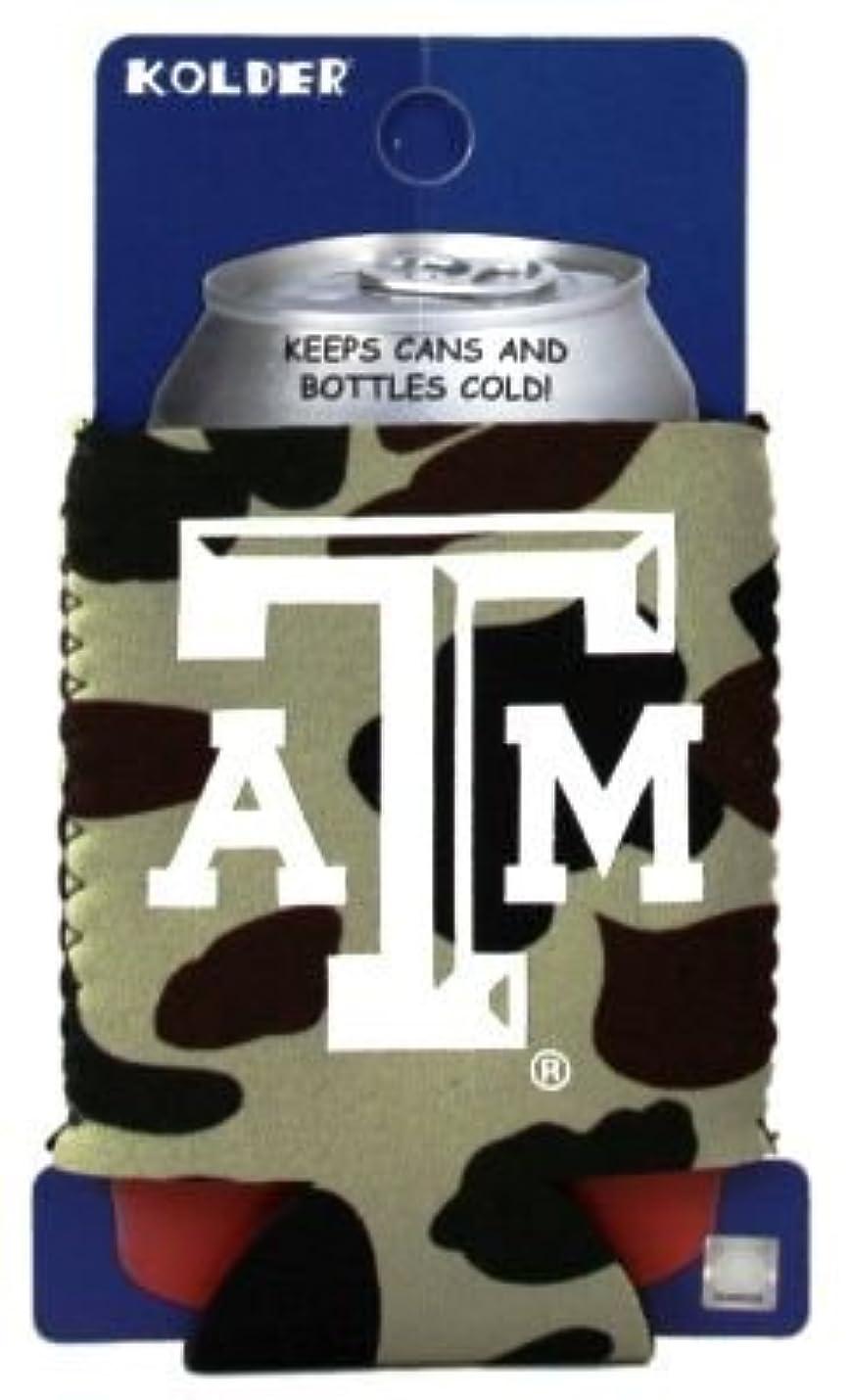 コイルセント航空便Texas A & M Aggies Camo Can Kaddy Koozie Huggie Cooler