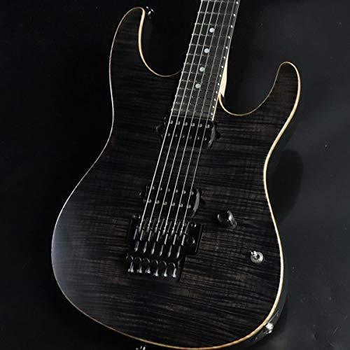 Suhr/Custom Series Modern Reverse Head Trans Black