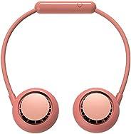 Portable Hanging Neck Fan Mini USB Hands-Free Wearable Neck Hanging Fan, 3 Wind Adjustment, Foldable 360° Free