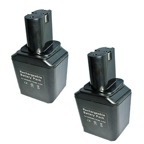 JC2個セット BOSCH 12V ニカド 互換バッテリー 2.0Ah BGSR12VE 対応