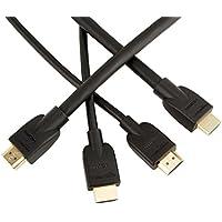 Amazonベーシック ハイスピード HDMIケーブル - 0.9m、4.5m セット(タイプAオス - タイプAオス)