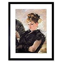 Painting Morisot Woman Subjects Girl Head Framed Wall Art Print
