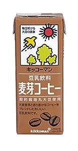 キッコーマン飲料 豆乳飲料 麦芽コーヒー 200ml×18本