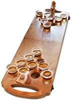 Studio Mercantile 24-Pc. Mini Wood Beer Pong Game