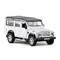 高シミュレーション 1:36 RMZ 市土地ディフェンダー SUV 合金のモデルカーのおもちゃプルバック車オフロード車子供のためのおもちゃギフト