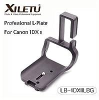 Canon EOS 1DX II用XILETU LB-1DXIILBG Lクイックリリースプレート三脚取り付けブラケット