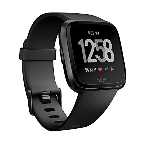 Fitbit フィットビット スマートウォッチ Versa 心拍数測定 睡眠...