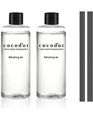 (ココドール) COCODOR リードディフューザーリフィル2個(400ml) (リフレッシングエア) [並行輸入品]