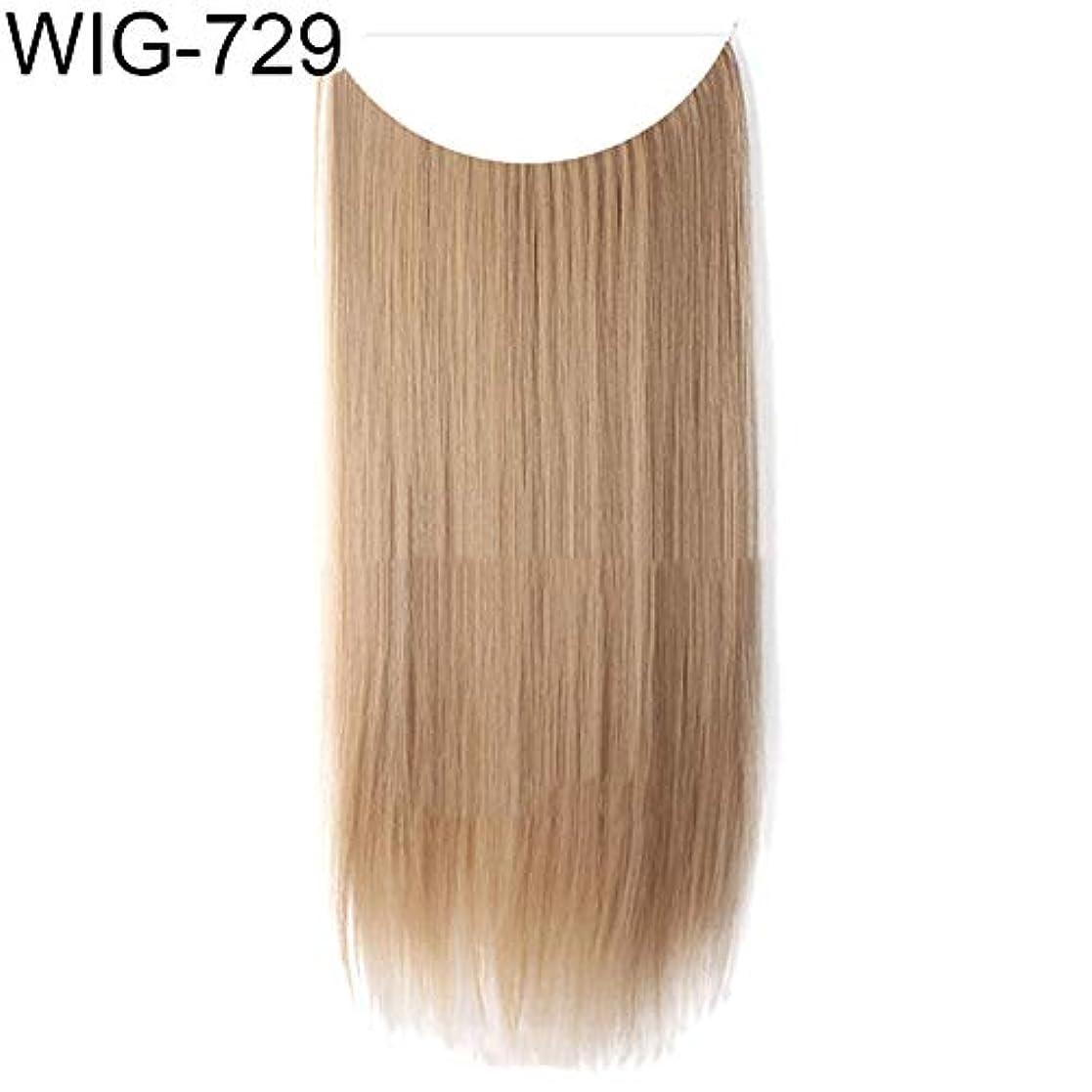 ピニオン休暇農民slQinjiansav女性ウィッグ修理ツール女性高温繊維長いストレートカーリーウィッグヘアエクステンションヘアピース