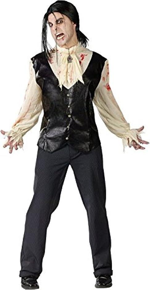 ミュート実装する韓国語Bloody Vampire Adult Costume ブラッディヴァンパイア大人用コスチューム?ハロウィン?サイズ:One Size Fits Most Adults