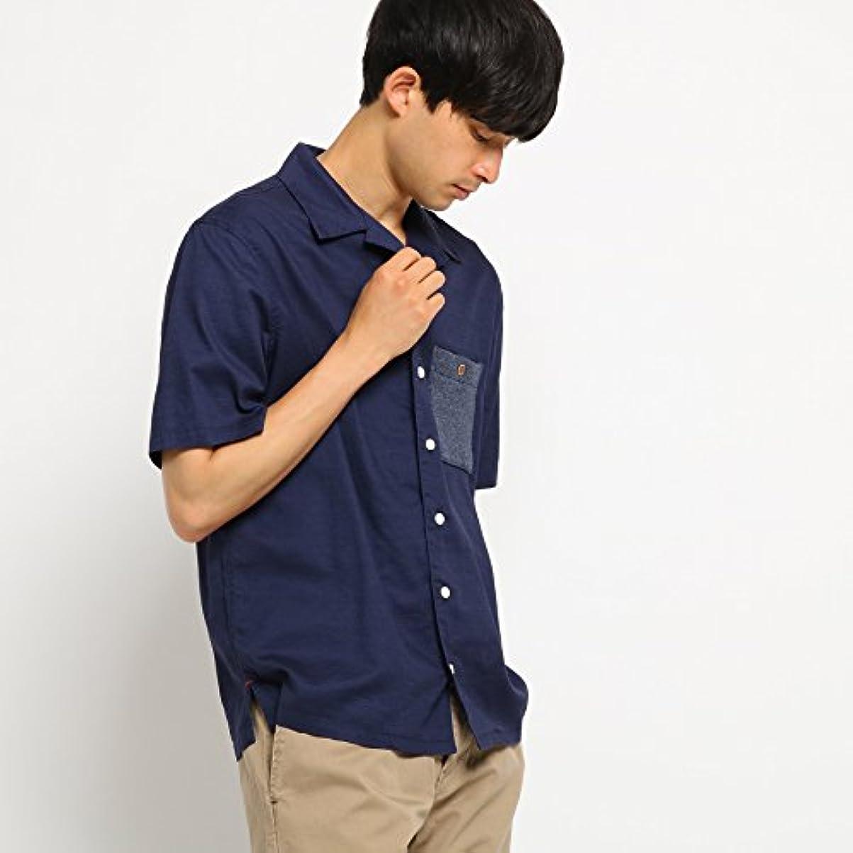 ゾーン近代化するどうやってBASE CONTROL(Men)(ベースコントロール(メンズ)) ビッグシルエット オープンカラーシャツ