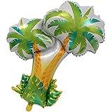 Fenteer パーティー装飾 バルーン ヤシの木 アルミホイル風船