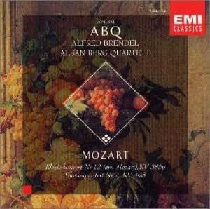 モーツァルト : ピアノ四重奏曲第2番変ホ長調K.493