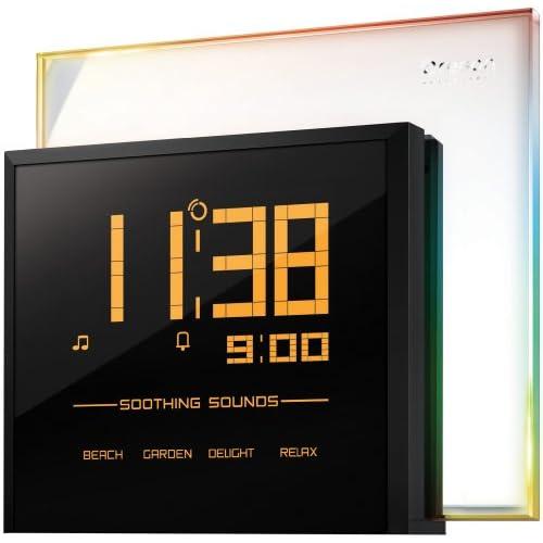 大型液晶ディスプレイ★RM901A Rainbow Clock レインボー クロック Oregon Scientific社【並行輸入】