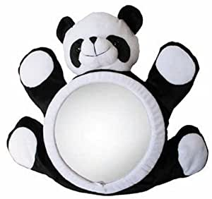 ママみて、ミラー パンダ 幅42×高さ35×厚さ約10cm 5240409001 カーブのかかったミラーが赤ちゃんをばっちり映します