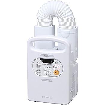 アイリスオーヤマ 布団乾燥機 カラリエ 温風機能付 マット不要 布団1組・靴1組対応 パールホワイト FK-C2-WP