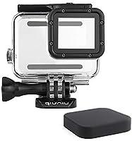 標準保護防水Diveハウジングケースfor GoPro Hero 5/ 6ブラックカメラアクションカメラ–最大45メートル–保護用レンズRemoval必要ない–透明クリア