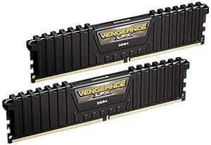 CORSAIR DDR4 メモリモジュール VENGEANCE LPX Series 8GB×2枚キット CMK16GX4M2B3000C15