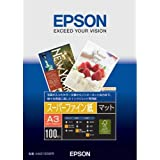 EPSON スーパーファイン紙 A3 100枚 KA3100SFR