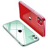 iwtbrich iPhone 11 ケース 薄型 透明TPU シリコン ケース 6.1インチ 專用スマホケース 耐衝撃カバー Qi充電対応 指紋防止