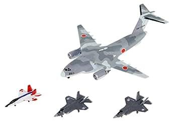 ピットロード 1/700 スカイウェーブシリーズ 自衛隊航空機セット1 X-2/F-35A/F-35B 各4機 C-2 2機入り プラモデル S45