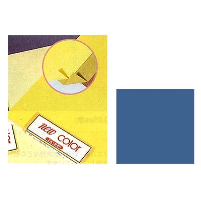 矩形うんスポーツの試合を担当している人ニューカラーR (両面同色工作用紙) A4 あさぎいろ ※50枚入