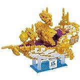 ディズニーシー15周年 ナノブロック ウィング・オブ・ウィッシュ号 ザ・イヤー・オブ・ウィッシュ クリスタル・ウィッシュ・ジャーニー TDS15th お土産【東京ディズニーシー限定】