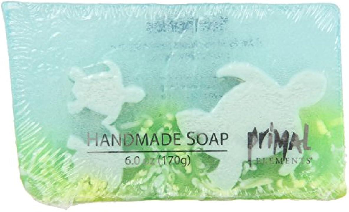 可能にする代理人意識Primal Elements SWTUR Bar Soap In Shrinkwrap, Sea Turtles - 6 oz.