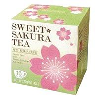 ティーブティック スイートサクラティー 緑茶 【40箱組】