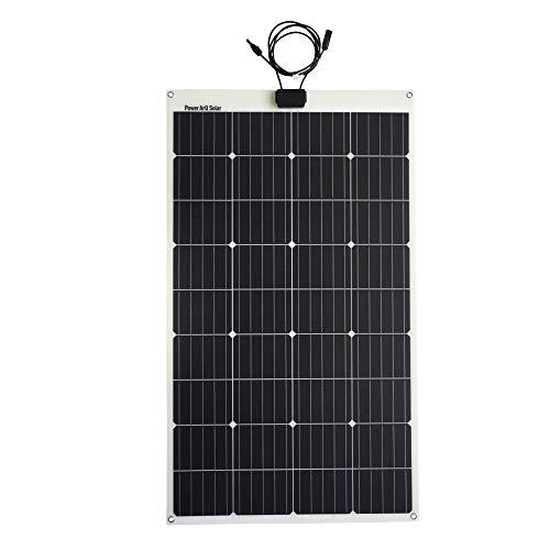 SmartTap 120W ソーラーパネル充電器 PowerArQ Solar 防水 IP65 太陽光発電 ソーラーチャージャー 高効率ソ...