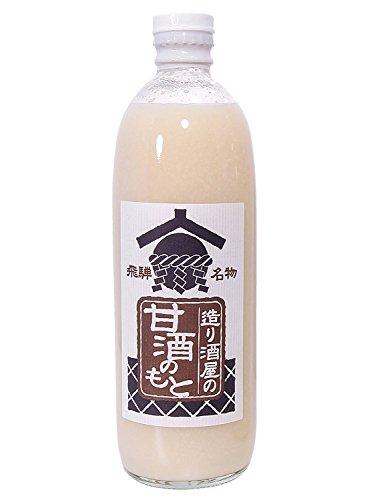 ノンシュガーノンアルコール 国産原料使用 希釈タイプ甘酒(造り酒屋の甘酒のもと)(500g)