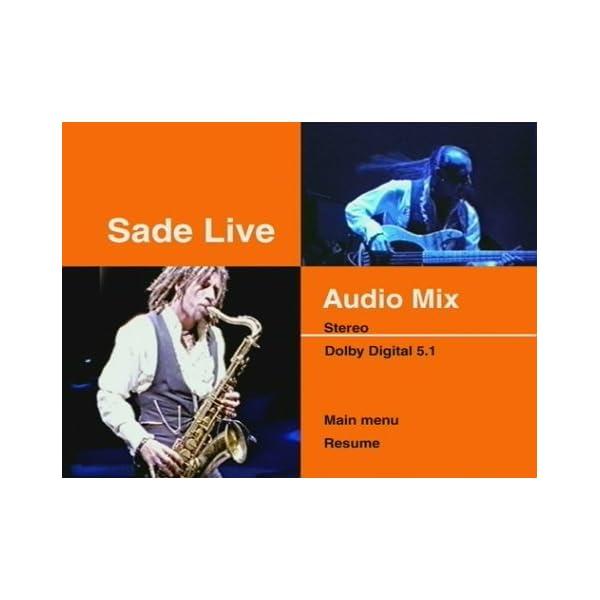 Sade Live [DVD] [Import]の紹介画像5