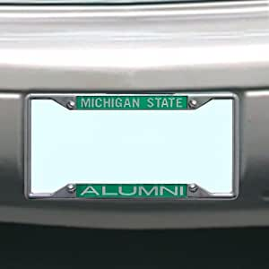 Michigan State Spartans NCAAライセンスプレートフレームAlumni