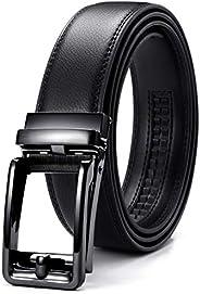 CHAOREN ベルト メンズ ビジネス 紳士ベルト クリックベルト おおきいサイズ コンフォート 穴なし ⾧さ調節可能 無段階調節 スーツベルト ⾧さ105cm~150cm ギフトボックス付き