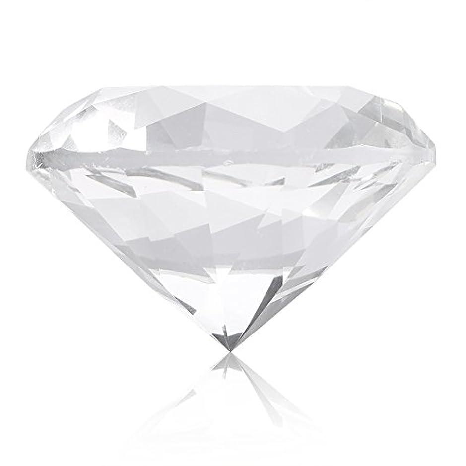 値下げ画像サッカーネイルチップスタンド スタンドベース ネイルアートディスプレイ ガラス クリスタル ダイヤモンド 撮影道具 モデル ネイルチップホルダー (ホワイト)