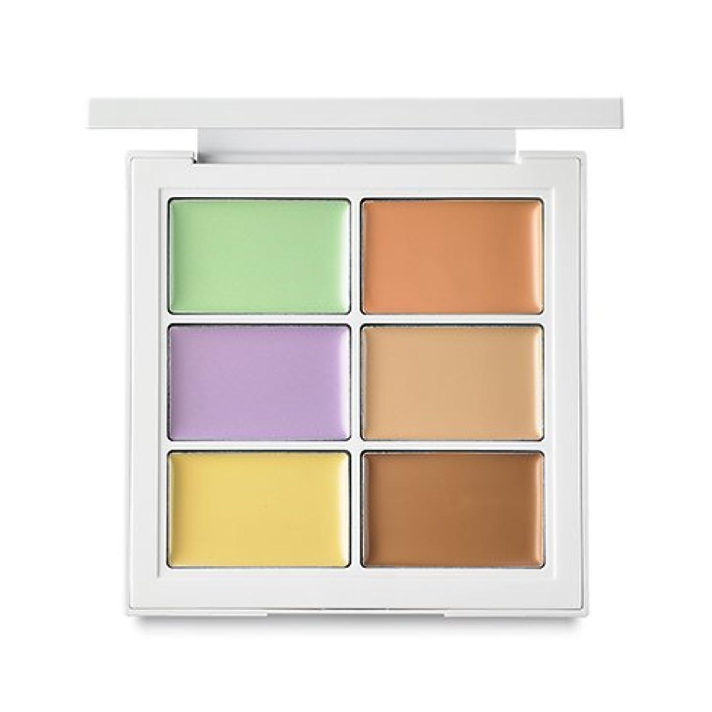 非常に怒っています影響噛むBANILA CO It Radiant CC Color Palette 8.5g/バニラコ イット ラディアント CC カラー パレット 8.5g (#Warm Tone) [並行輸入品]