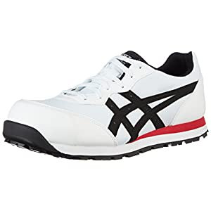 [アシックスワーキング] 安全靴 作業靴 ウィンジョブ ホワイト/ブラック 27 cm 3E