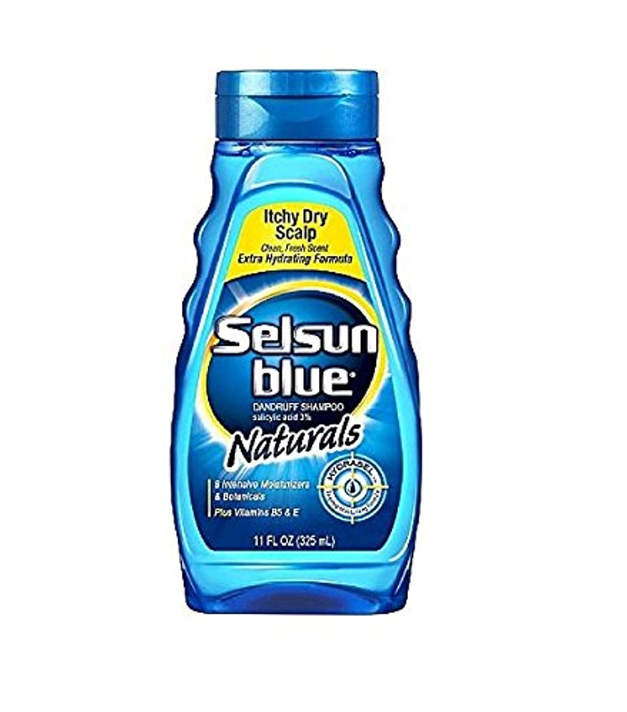 Selsun Blue Naturals Dandruff Shampoo Itchy Dry Scalp 325 ml (並行輸入品)