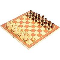木製 チェスセット 29cm 折り畳み式 チェスジャパン チェス盤 チェス駒セット チェスゲーム ホームパーティ 誕生日 プレゼント