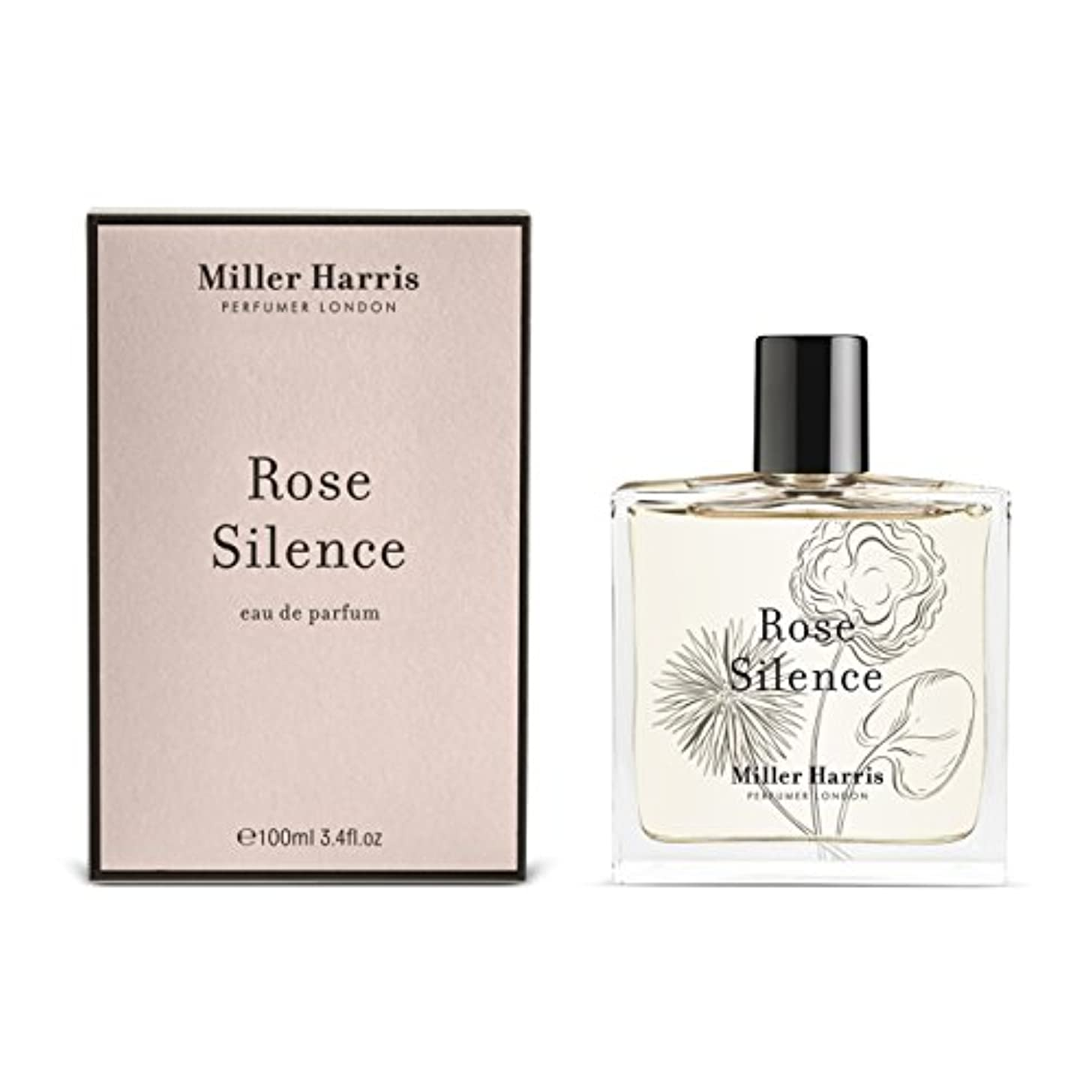 地区欲しいです不変ミラーハリス Rose Silence Eau Parfum Spray 100ml/3.4oz並行輸入品