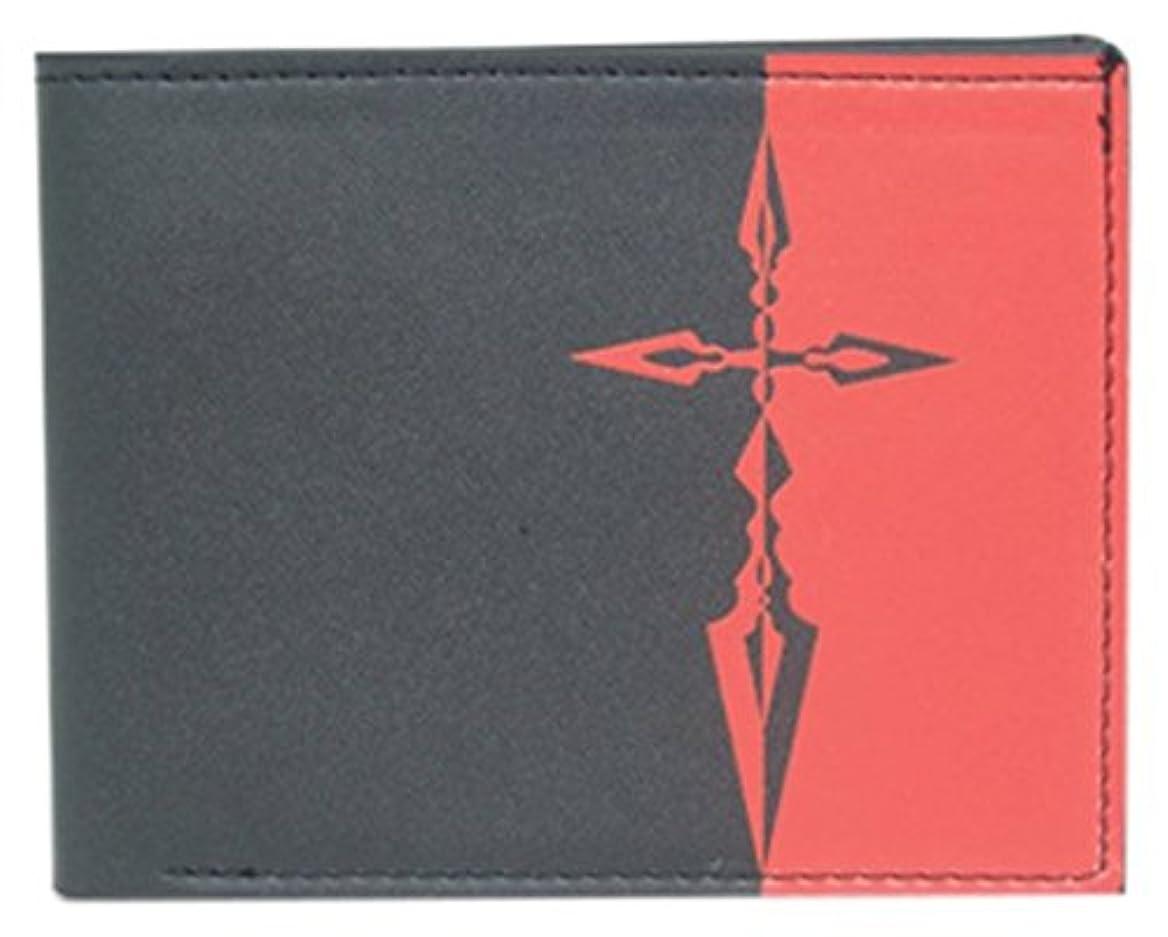 人質バスケットボール光沢Fate/Zero セイバー シンボル 二つ折り財布 Fate/Zero Saber Symbol Bi-fold Wallet K