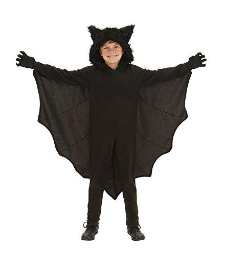 Honeystore ハロウィン衣装 子供用 ドラキュラ コウモリ 衣装 仮装 コウモリ着ぐるみ コスプレ ハロウィン コスチューム キッズ 140cm