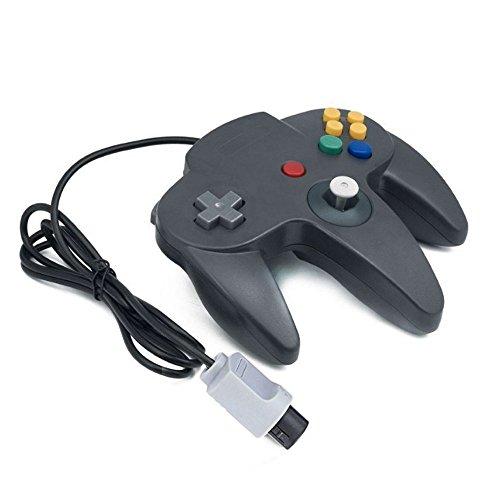 iFormosa ニンテンドー NINTENDO64 N64 ゲーム コントローラーブロス 黒 IF-N64C-BK