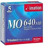 OD3-640SWINX5 3.5型MO 640MB Win/DOSフォーマット 5枚入