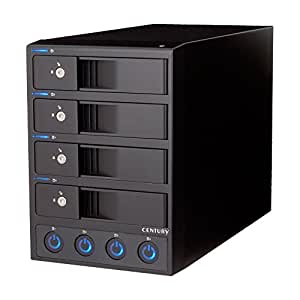 センチュリー 独立電源スイッチ搭載 USB3.0接続 3.5インチSATA-HDD ケース 「裸族のカプセルホテルVer.2」 CRCH35U3IS2