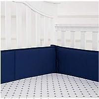綿 ベッドレール, 肥厚 反衝突 通気性 ベッドガード 洗濯機 パッド 赤ちゃん 寝具-ブルー