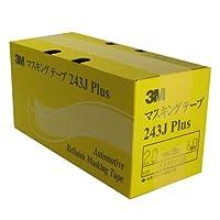 #243J PLUS マスキングテープ 20ミリ×18M 60P