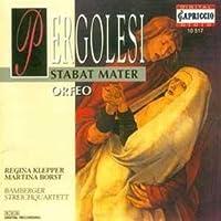 Stabat Mater / Orfeo by G.B. Pergolesi