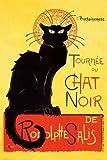 アメリカン アートポスター CHATNOIR(1286)ネコ 黒猫 壁掛け アメリカン雑貨 アメリカ雑貨 ポスター